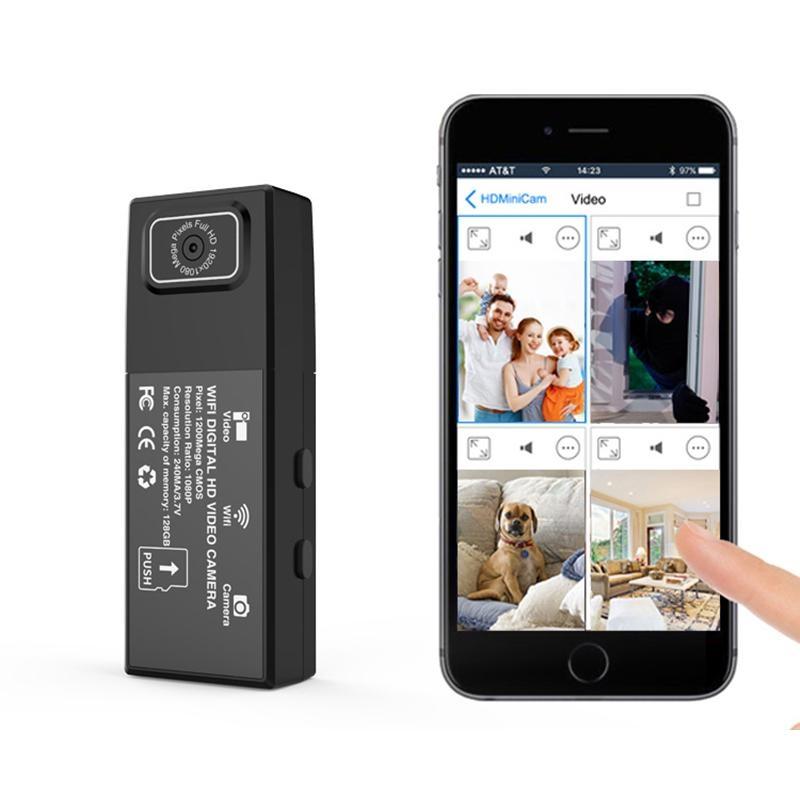 Camera siêu nhỏ ngụy trang cúc áo X10 công nghệ mới