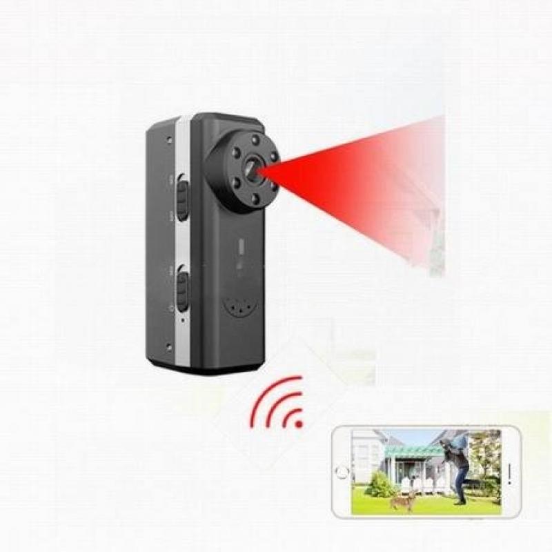 camera mini siêu nhỏ W6 wifi quay đêm pin khủng 19h