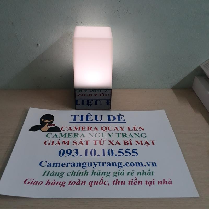 Camera wifi ngụy trang đèn ngủ quay đêm