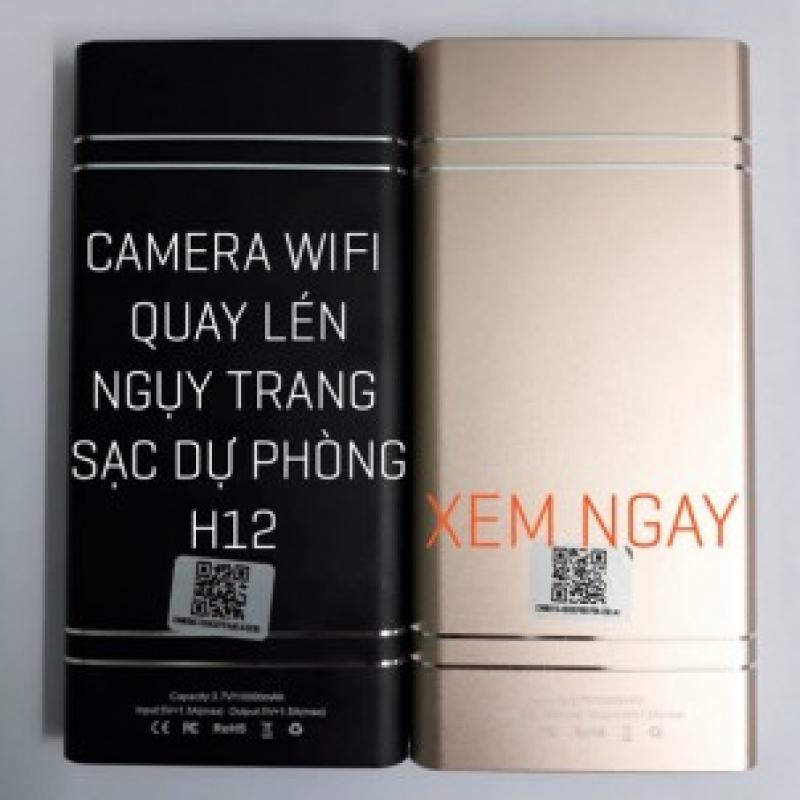 Camera Wifi Ngụy Trang Sạc Dự Phòng H12