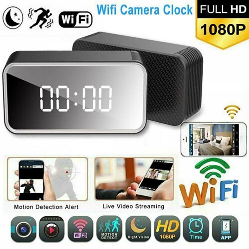 Camera đồng hồ để bàn H13 xem qua wifi 4G tốc độ cao