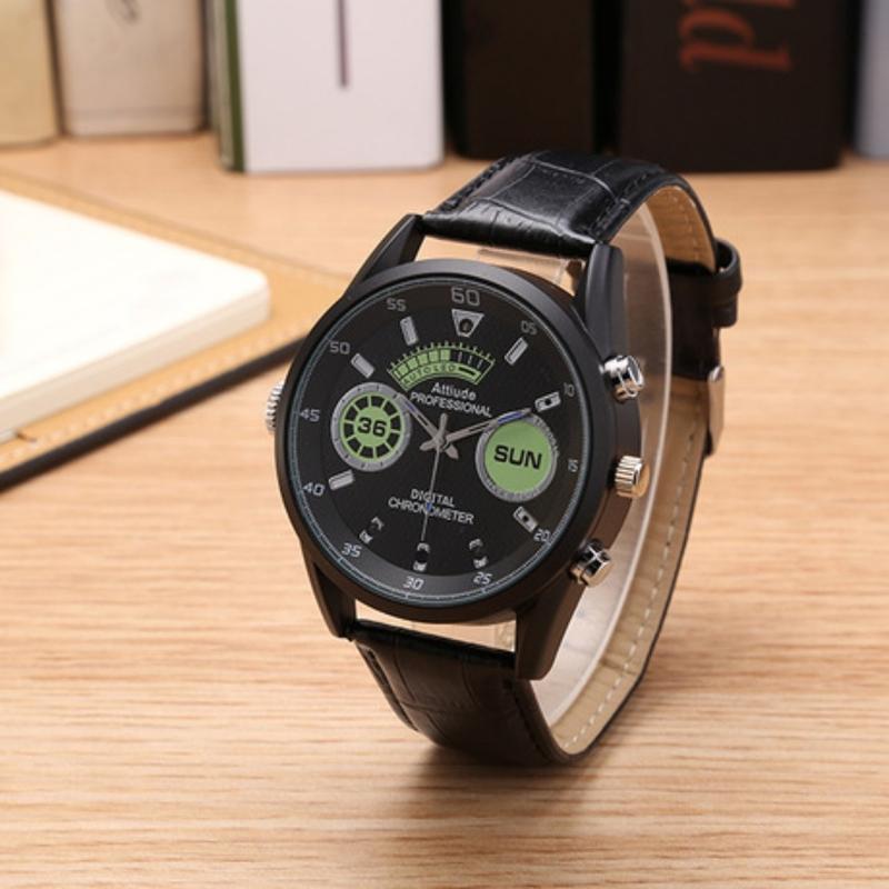 đồng hồ đeo tay camera U12 thời trang