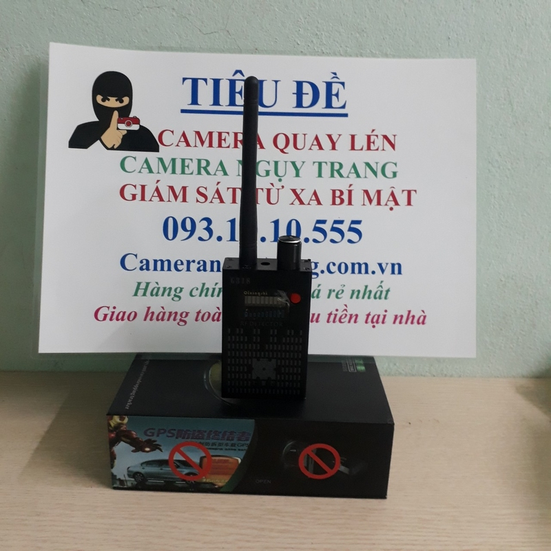 Máy phát hiện thiết bị định vị nghe lén G318