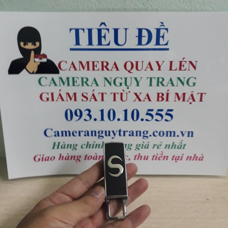 Camera ngụy trang móc khóa AT007