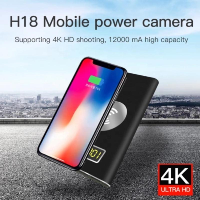 Camera Ngụy Trang Sạc Dự Phòng H18 Wifi 4K