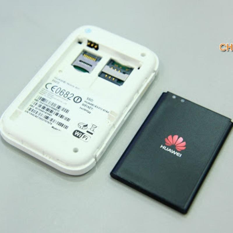 Bộ phát Wifi 4G LTE Huawei E5372 150Mb thu phát sóng cực mạnh